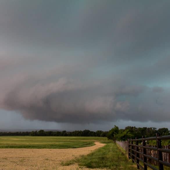 Storm near Hillsboro, TX