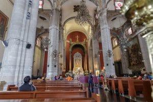 Inside Templo Expiatorio a Cristo Rey