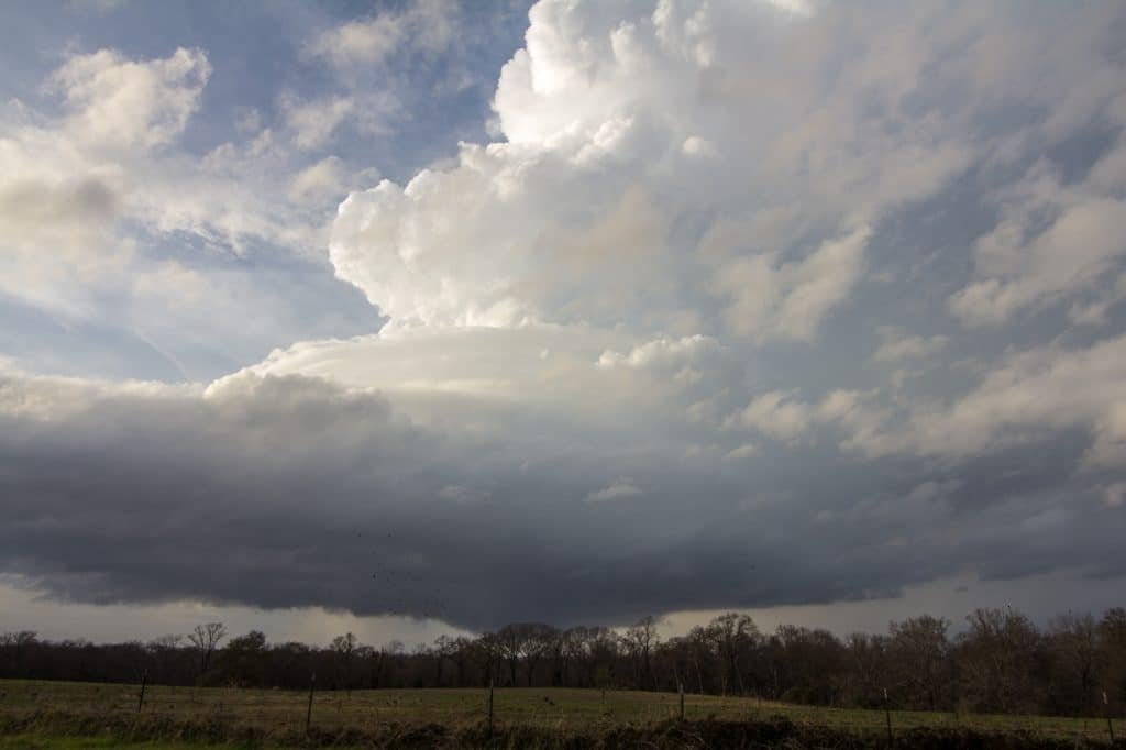 LP Supercell in East Texas