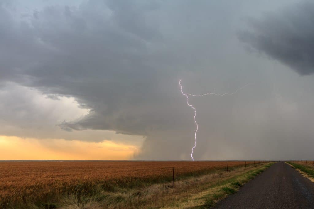 Lightning Bolt near El Dorado