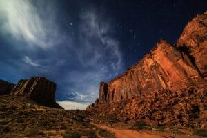 Long Canyon at Night