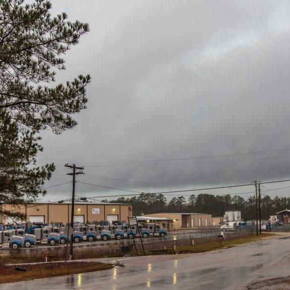 Shelf Cloud near Sandersville, MS