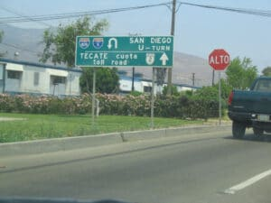 Mexican Street Signs