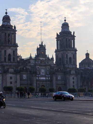 Mexico City Metropolitan Cathedral in Mexico City