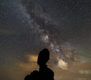 Milky Way over Arches