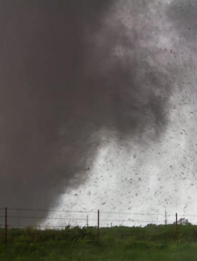 The Moore, Oklahoma Tornado of May 20th, 2013 near Sooner Rd and 134th