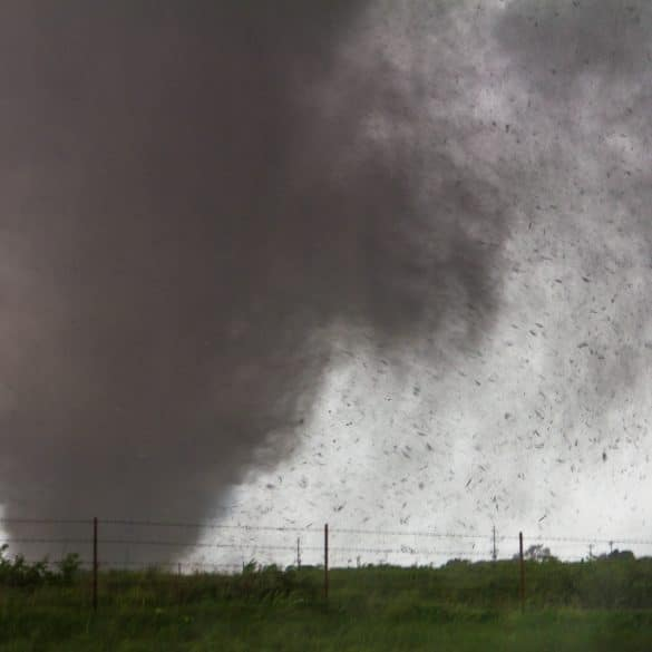 The Moore, Oklahoma Tornado of May 20th, 2013 near Sooner Rd and 134th