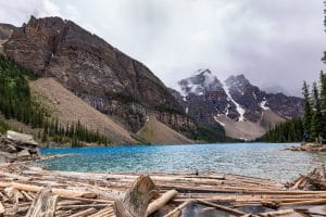 Moraine Lake from the river