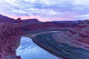 Morning pictures of the Colorado River