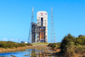 Orion EFT-1 2 days before launch