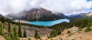 Beautiful Peyto Lake