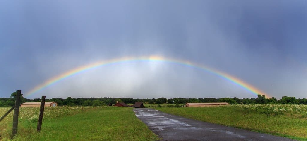 Extreme Rainbow Intercept Oklahoma Edition