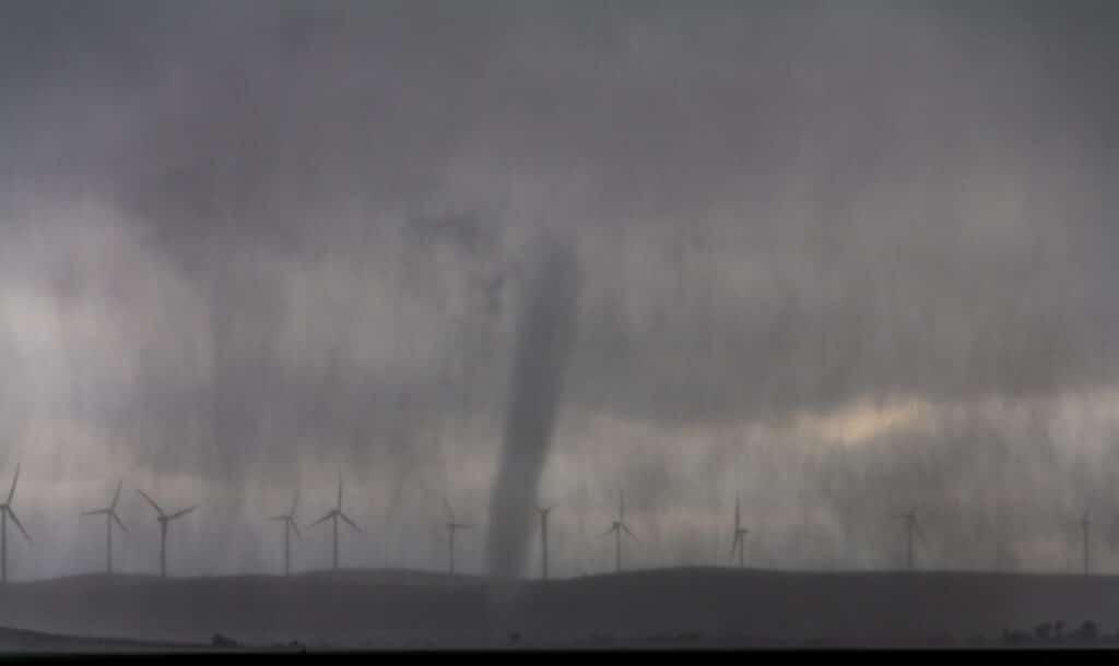Saddle Mountain Oklahoma Tornado