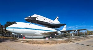 Space Shuttle 747 carrier