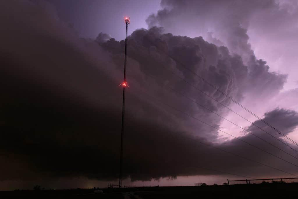 Storm near Stratford, OK