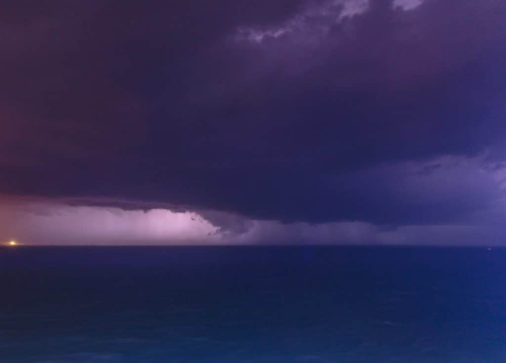 Storm over the Atlantic