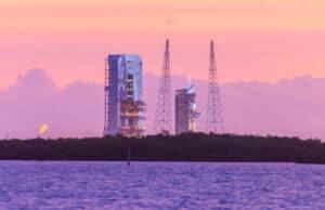 Sunrise over the Launchpad