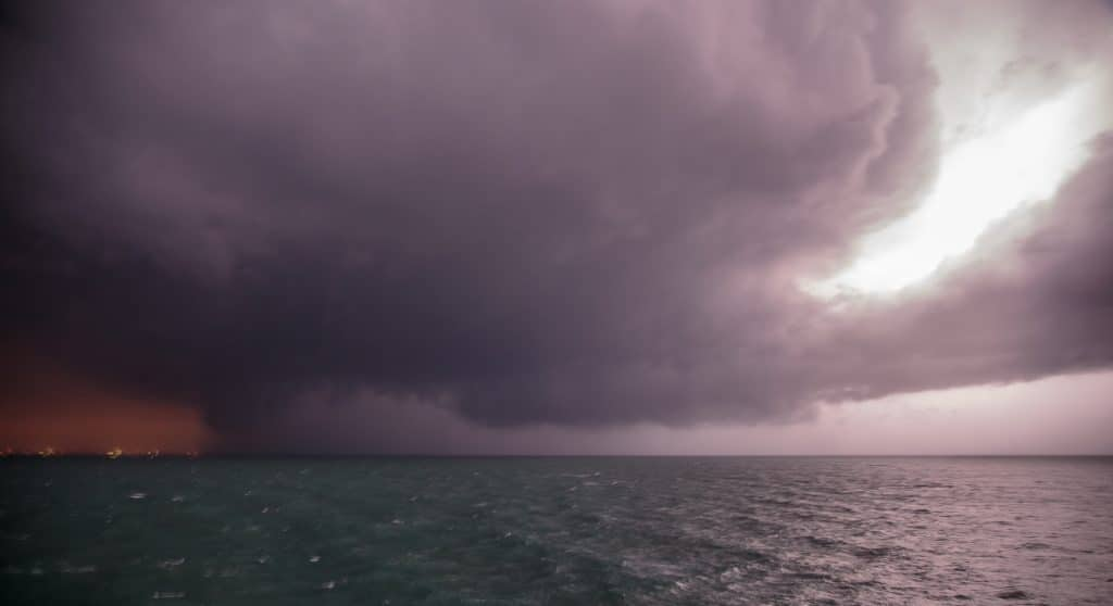 Supercell from Cruise Ship