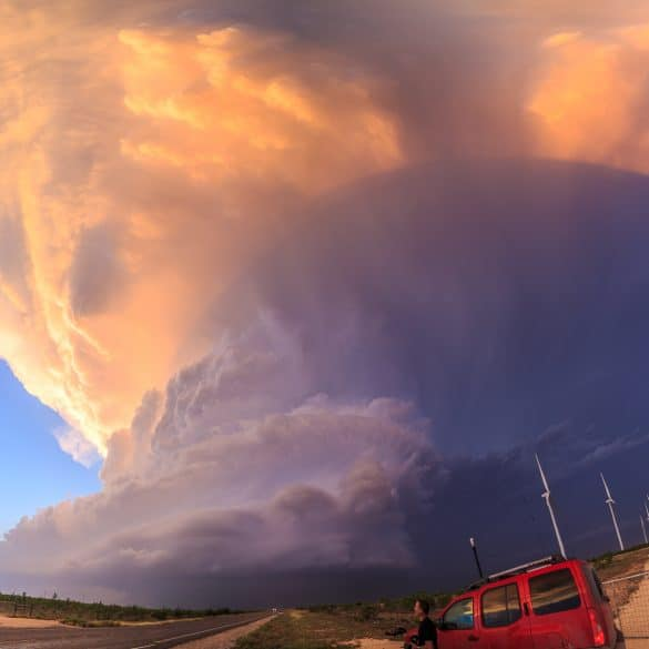 Big Spring, Texas Tornadoes and Monster Supercell