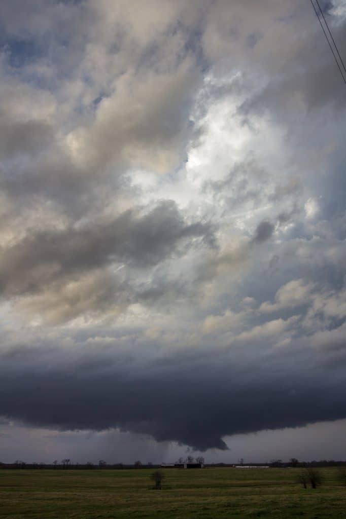 Texas Meso and Wall Cloud
