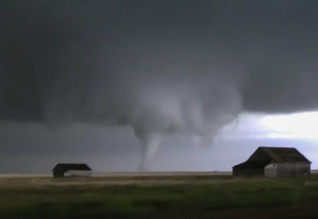 Tornado near Eva