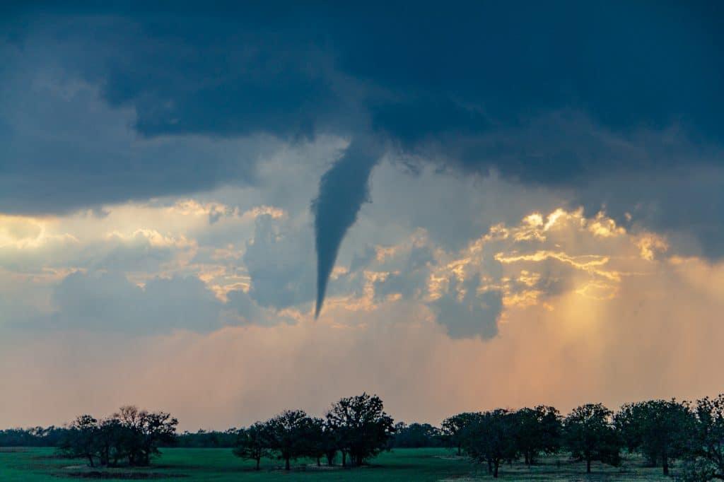 Eliasville Texas Tornado