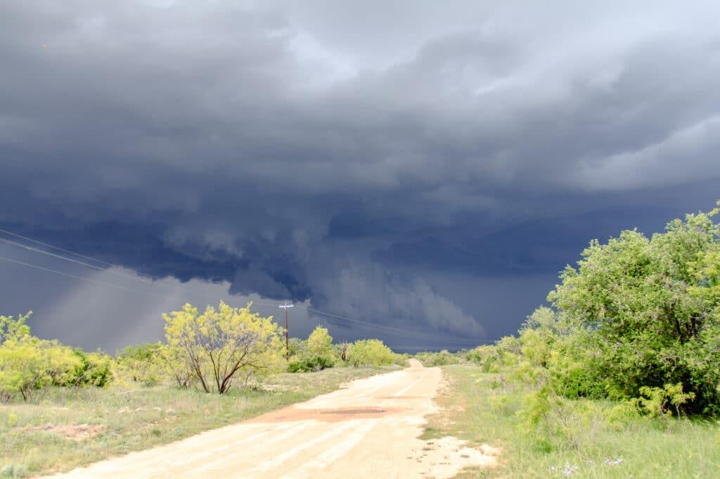 First tornado warned storm