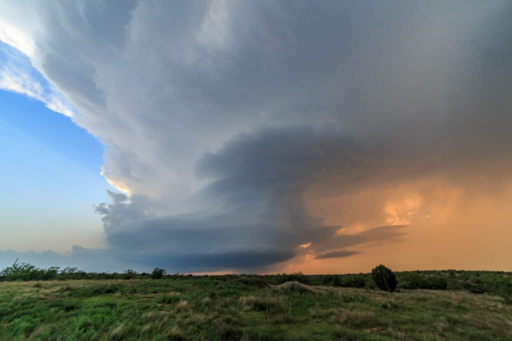 Turkey TX Supercell Structure