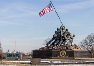US Marines Monument