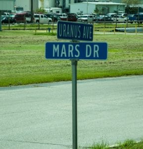 Uranus Ave and Mars Dr