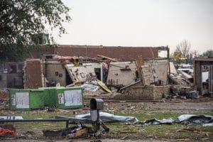 Van's Pig Stand destroyed by Moore OK Tornado