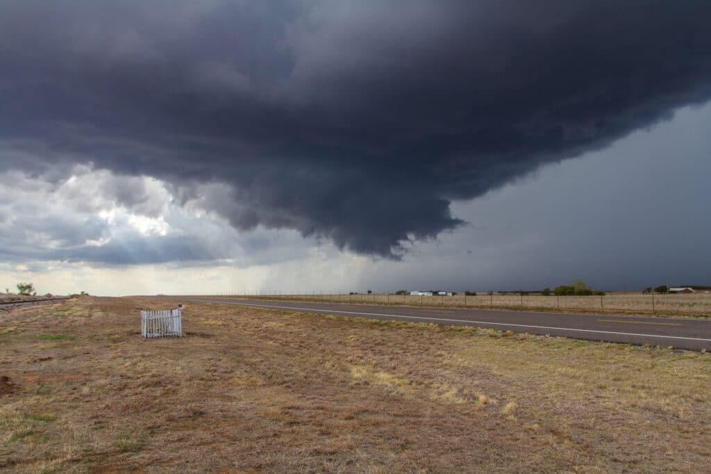 Wall Cloud near El Dorado