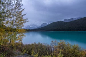 Waterfowl Lakes in Banff National Park