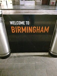 Welcome to Birmingham