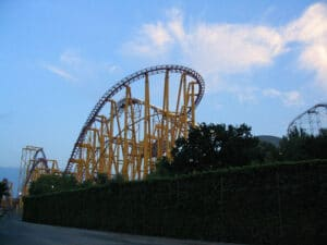 X at Six Flags Magic Mountain