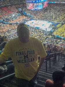 Me at the Final Four