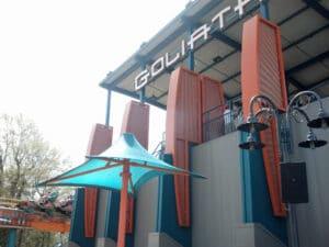 Goliath at Six Flags over Georgia