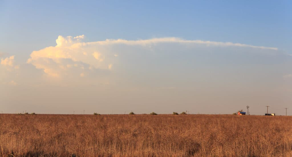 Anvil in Distance