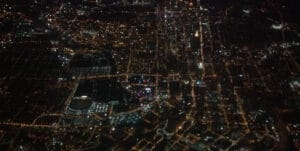Arriving into Atlanta on Friday evening