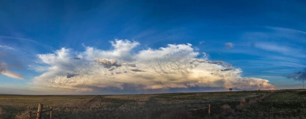 Colorado Storms off the mountains