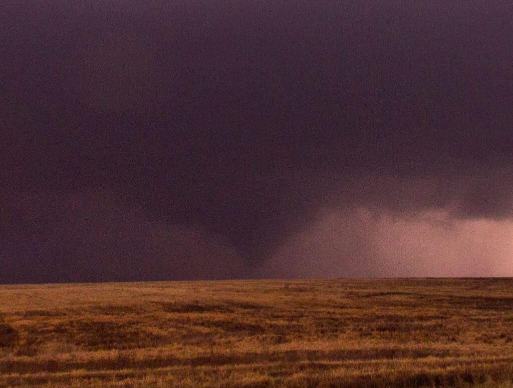 Cone Tornado in Kansas