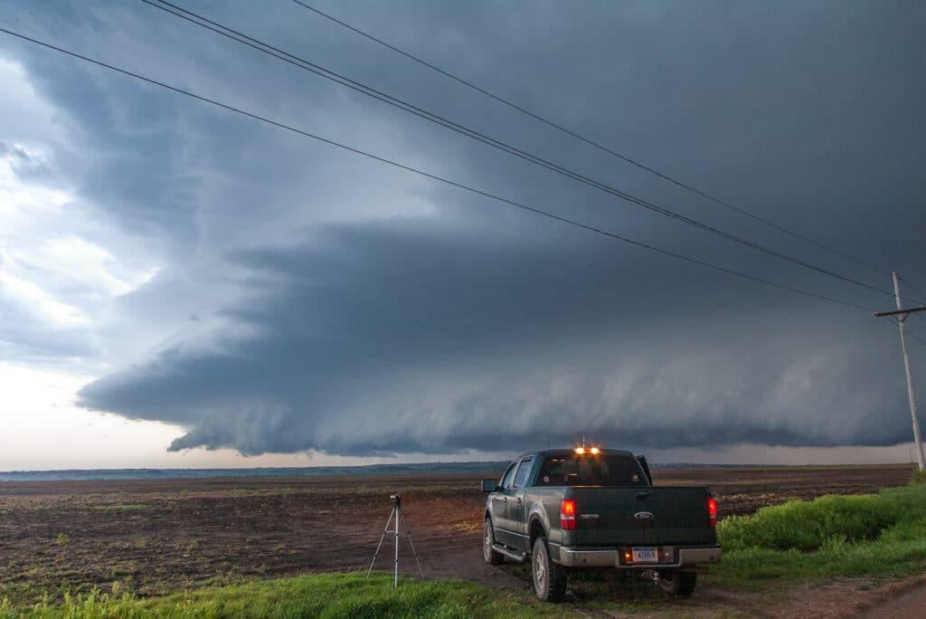 Fairbury Nebraska Shelf Cloud