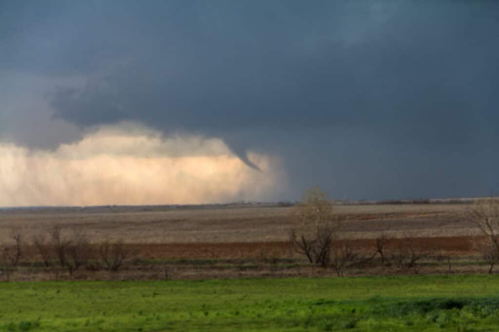 First tornado/funnel