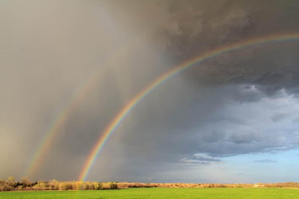 Rainbow near Mulhall