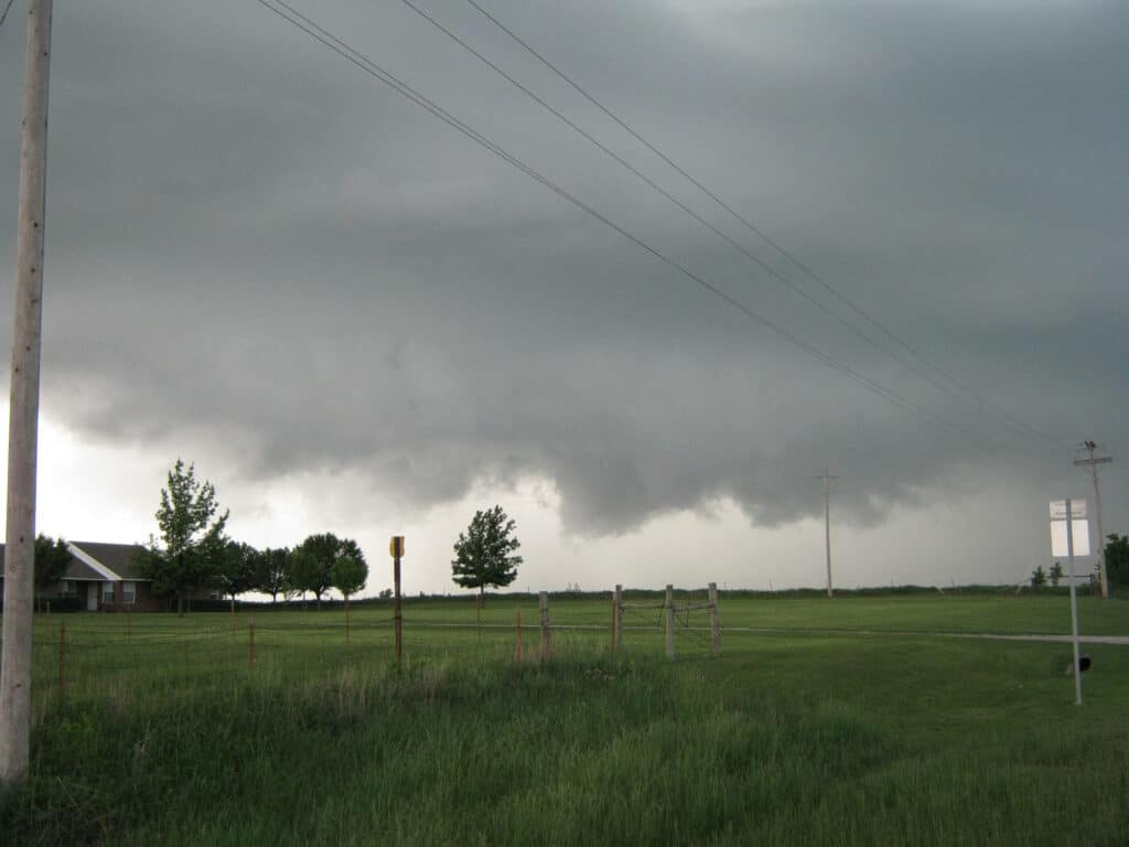 Storm near Goldsby