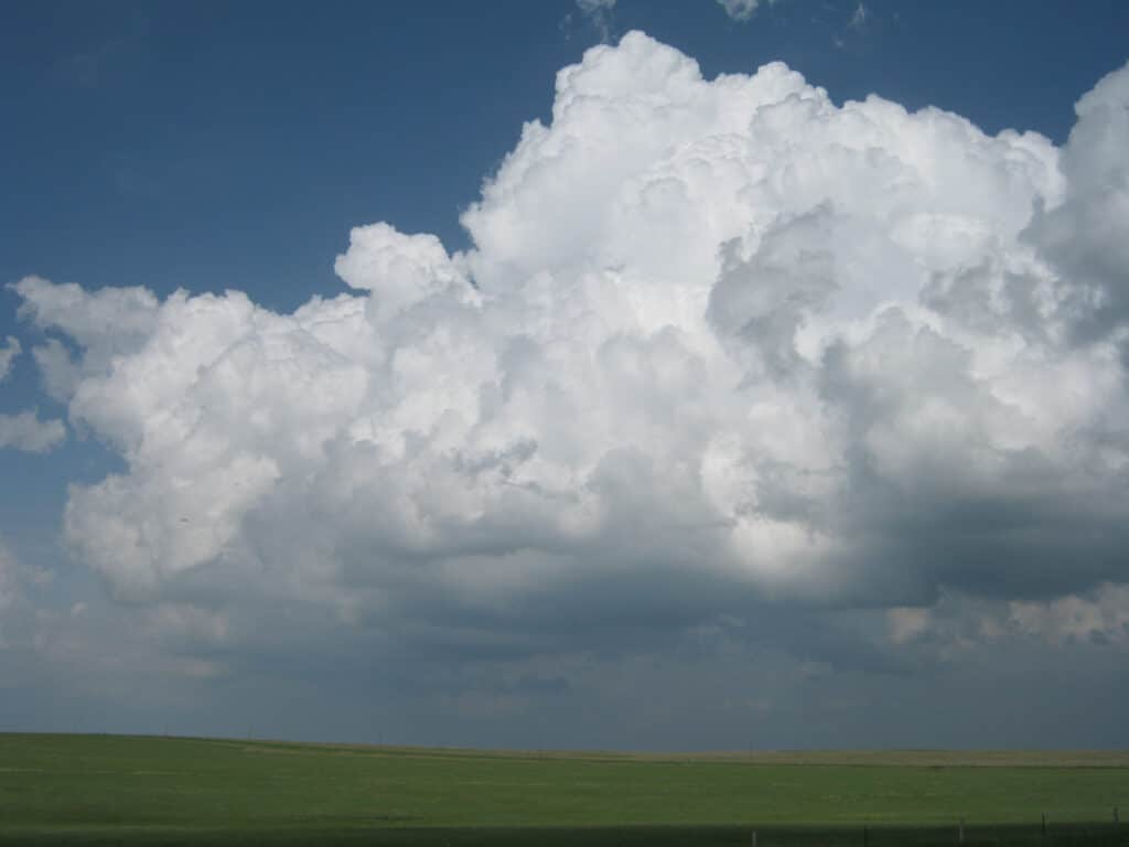 We were on it from a towering CU to tornadofest.