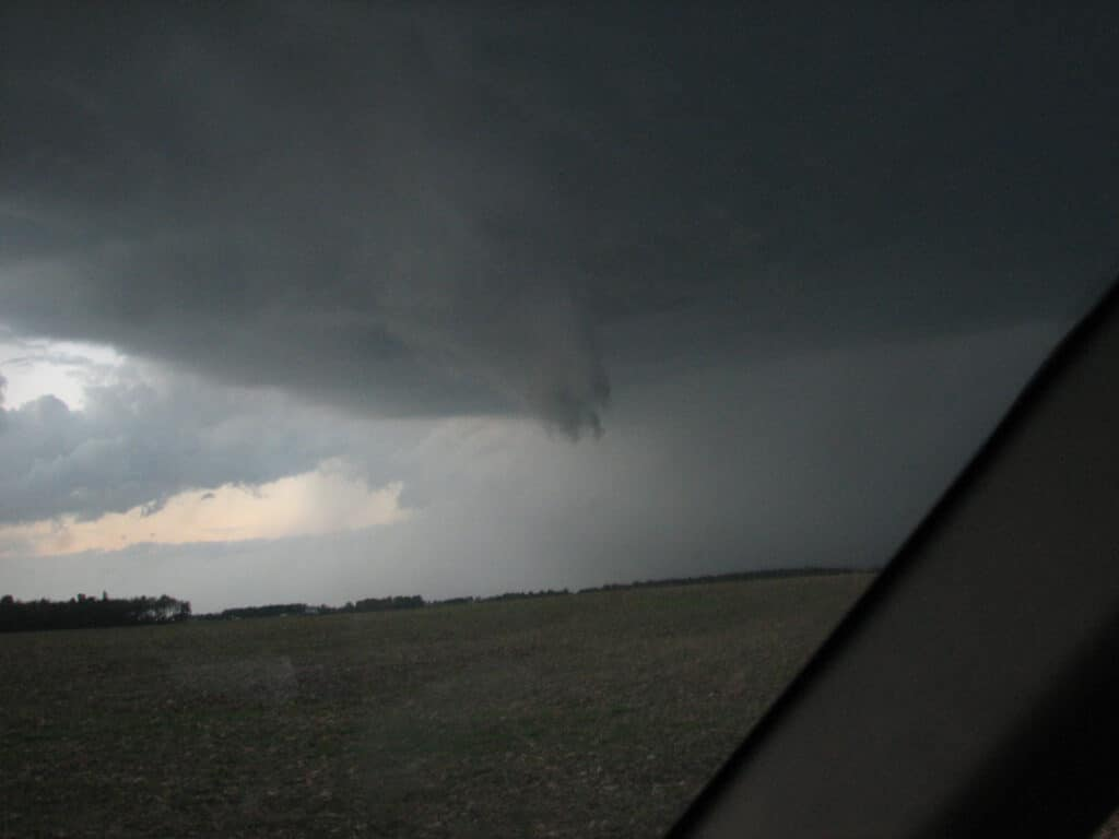 Funnel near Metea, Indiana