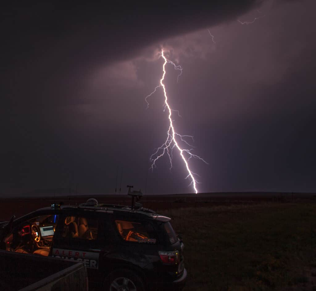 Lightning in Texas