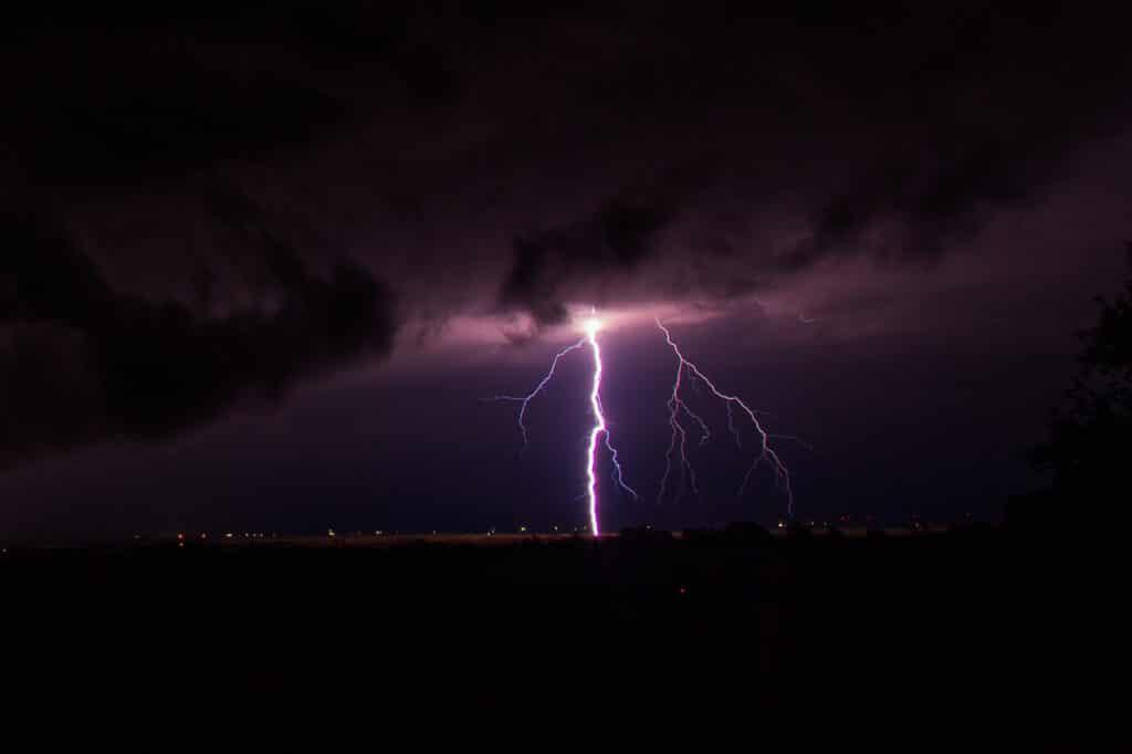 Texas Panhandle Lightning