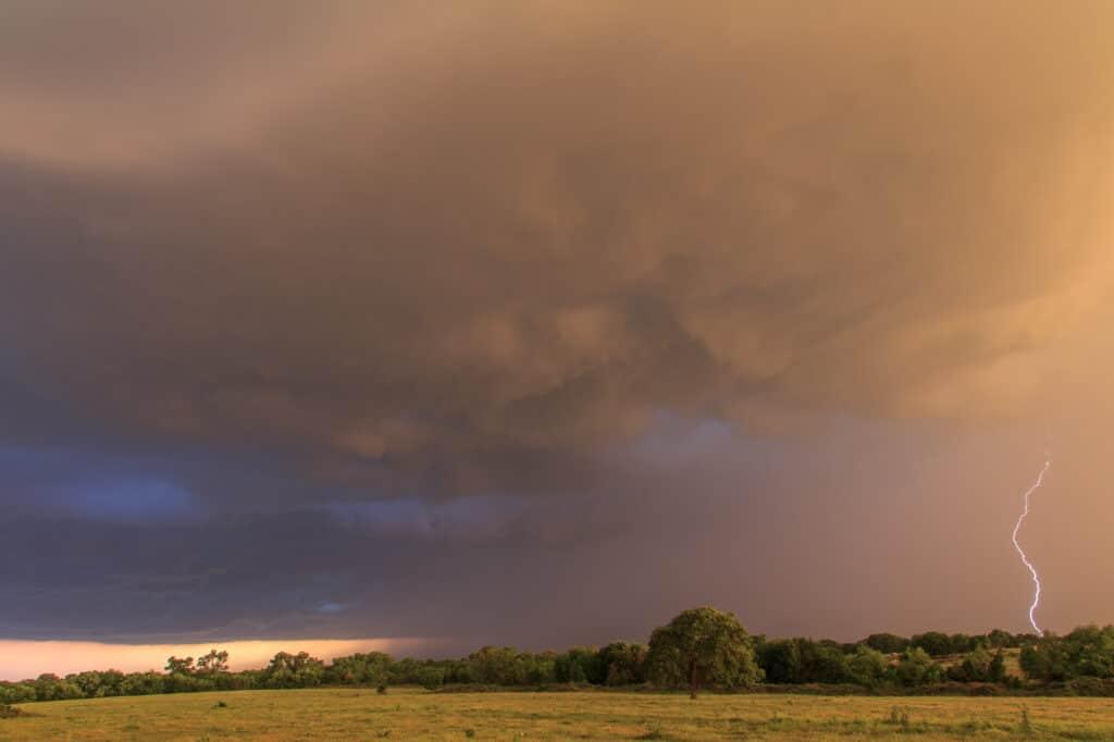 Lightning Oklahoma
